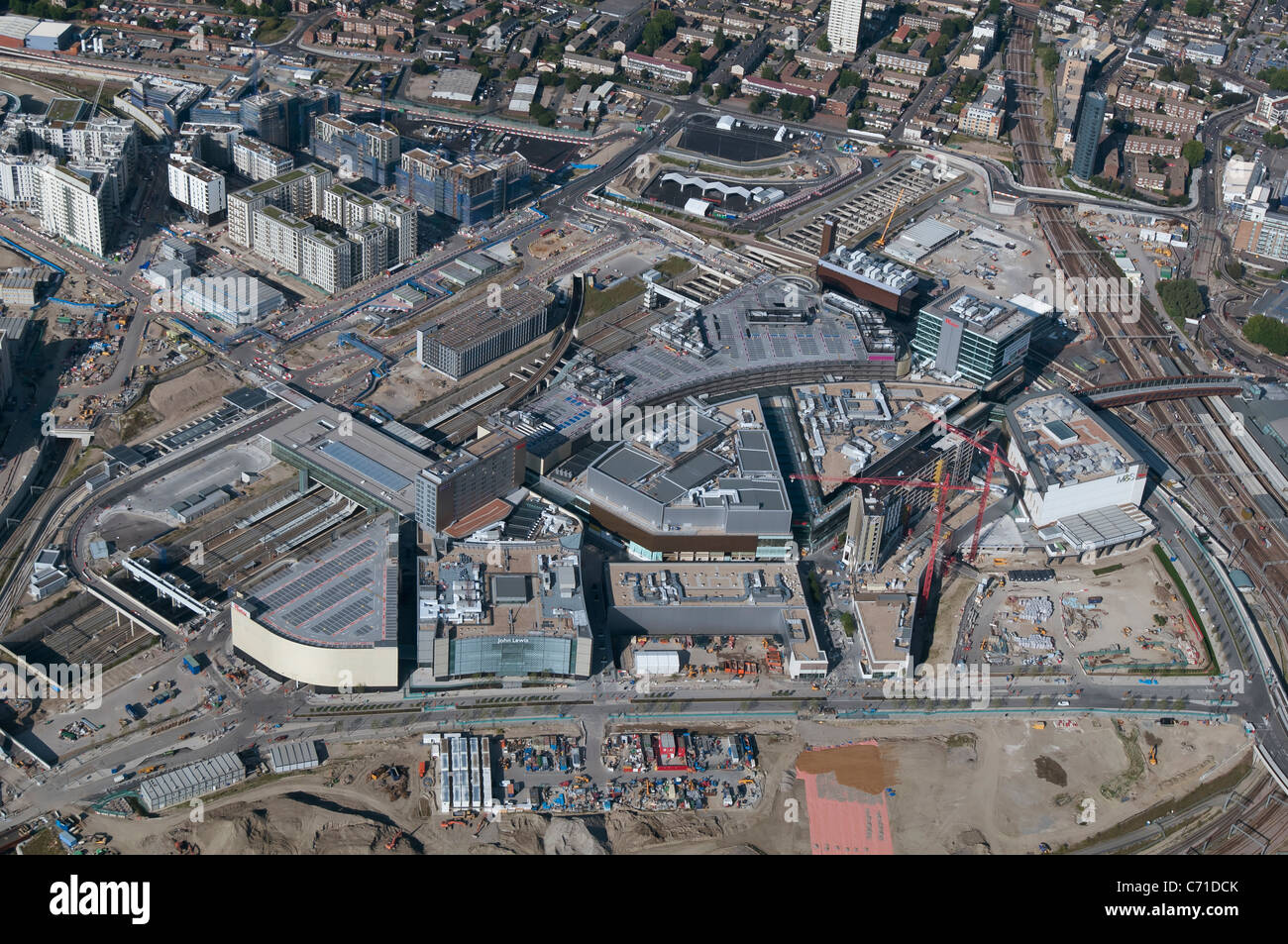 Westfield shopping centre in Stratford - Stock Image
