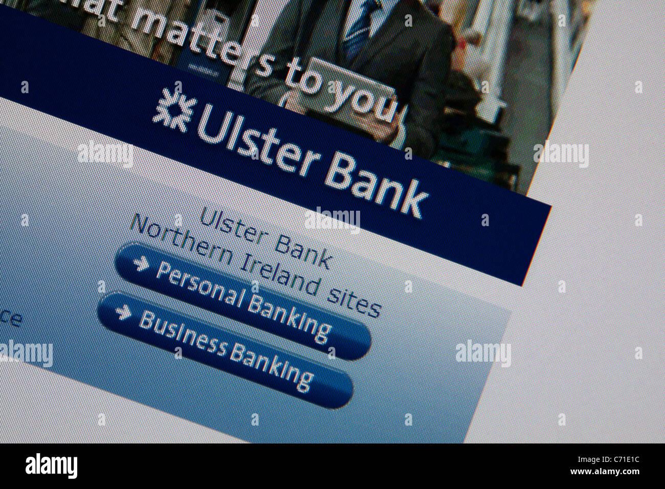 ulster bank - Stock Image