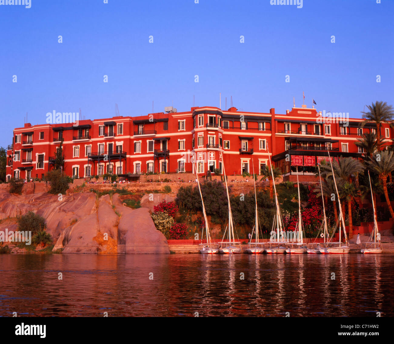 Old Cataract Hotel Aswan Egypt Stock Photo 38759310 Alamy
