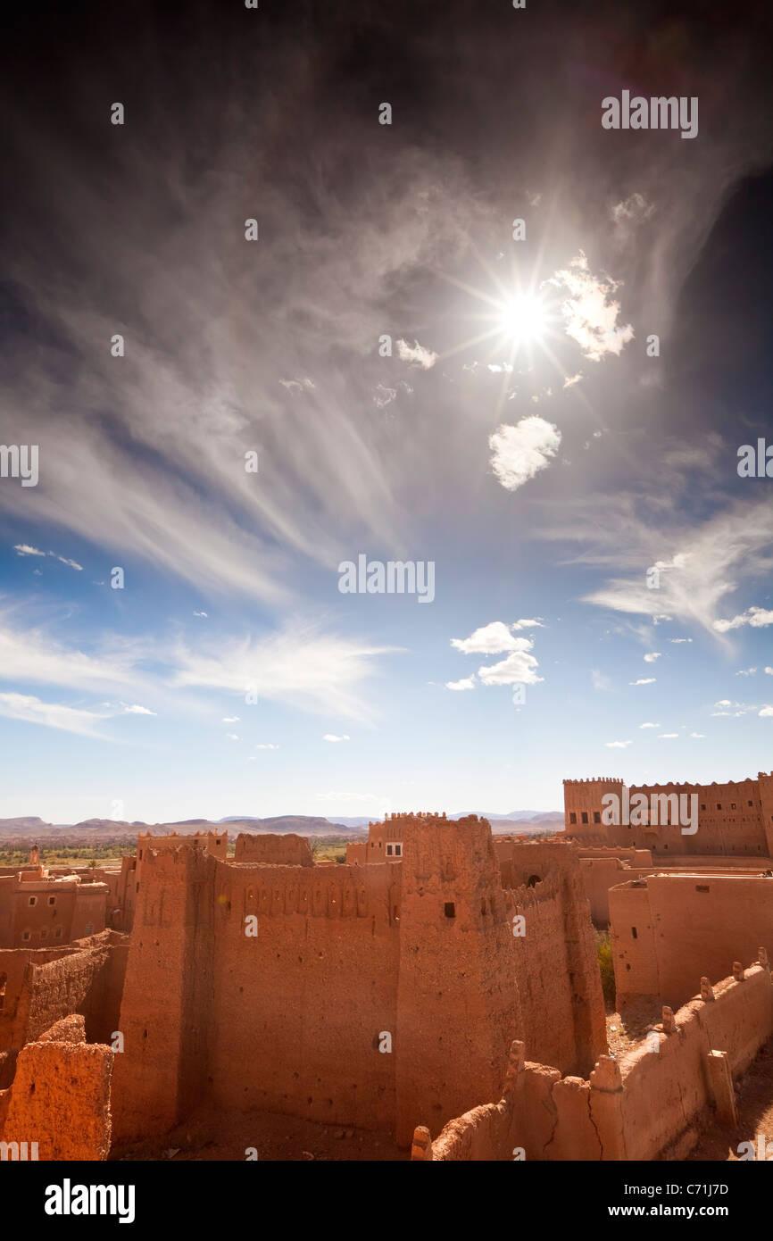 Taourirt Kasbah, Quarzazate, Morocco, Northwest Africa - Stock Image