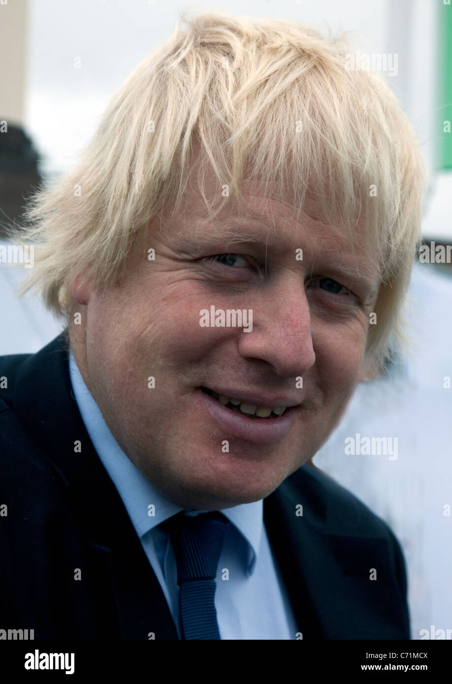 Mayor of London Boris Johnson at event in London - Stock Image