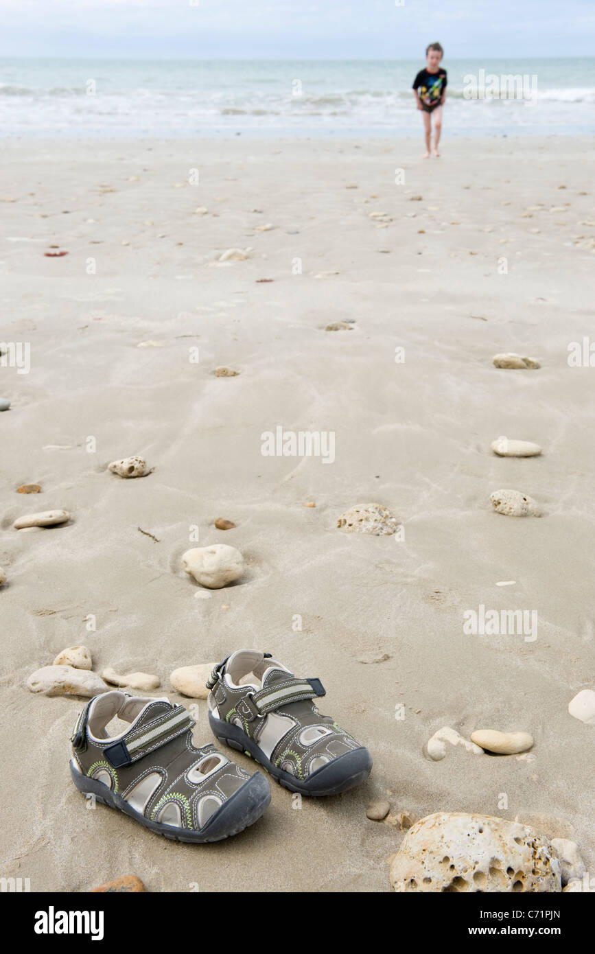 937bfc553679b7 Foot In Sandals Stock Photos   Foot In Sandals Stock Images - Alamy