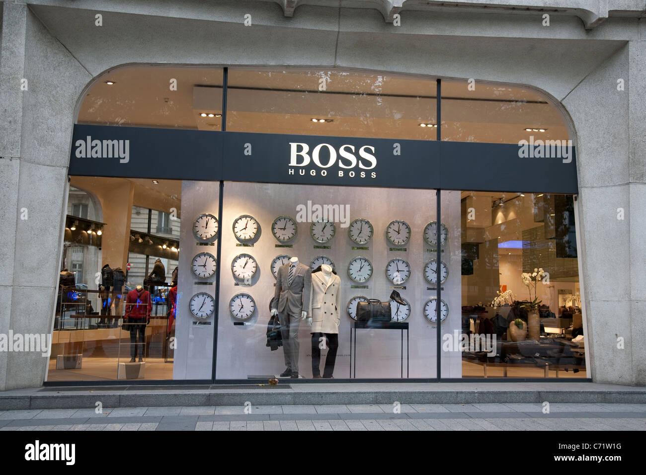 3866479daa0 Hugo Boss Shop on Champs-Elysees