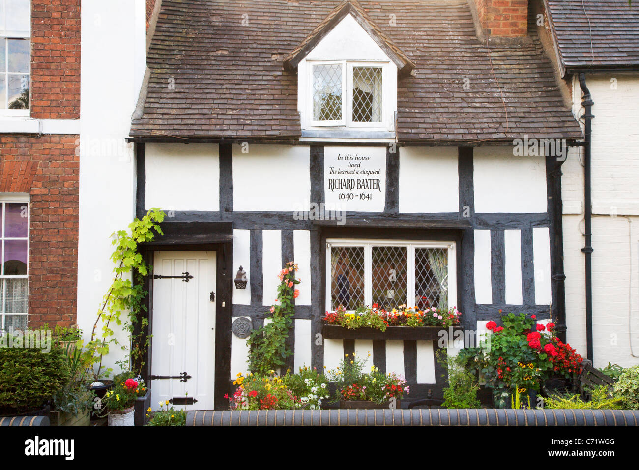Richard Baxters House Bridgnorth Shropshire England - Stock Image