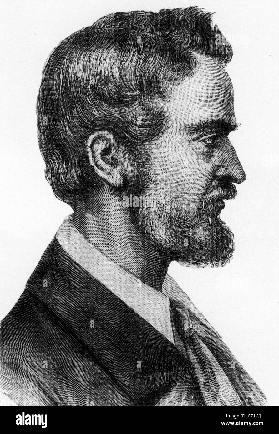 LUDWIG LEICHHARDT (1813- c1848) Prussian explorer and naturalist - Stock Image