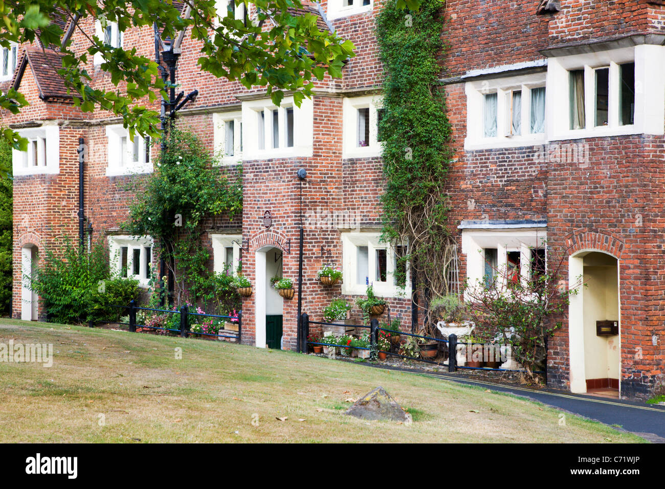 Old Grammar School in St Leonards Close Bridgnorth Shropshire England - Stock Image