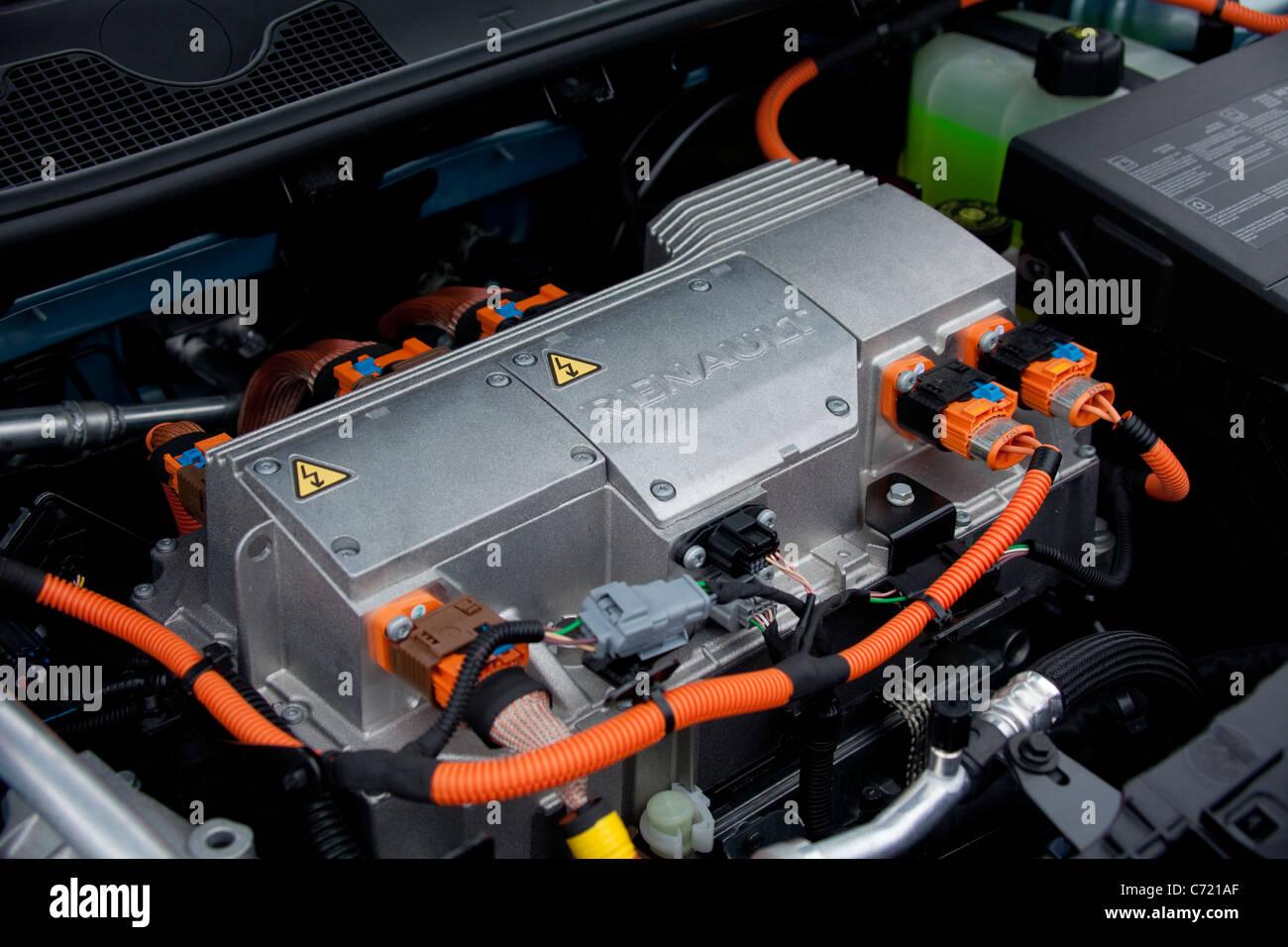 Electric Car Engine Stock Photos & Electric Car Engine Stock Images ...