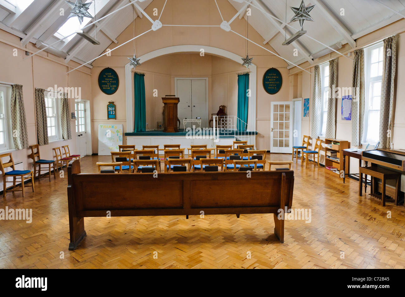 Sunday school hall at the Church of Jesus Christ Scientist, Belfast - Stock Image