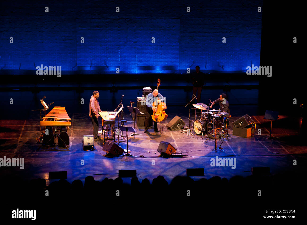 Canada,Quebec,Montreal, Montreal Jazz Festival, Dave Holland Quintet - Stock Image