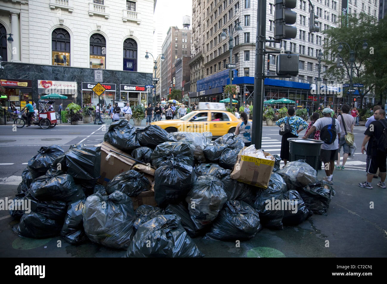 Image result for new york city trash