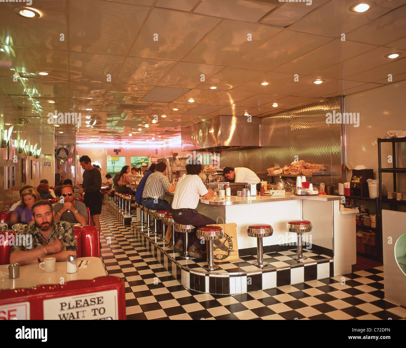 American Diner High Resolution Stock Photography And Images Alamy