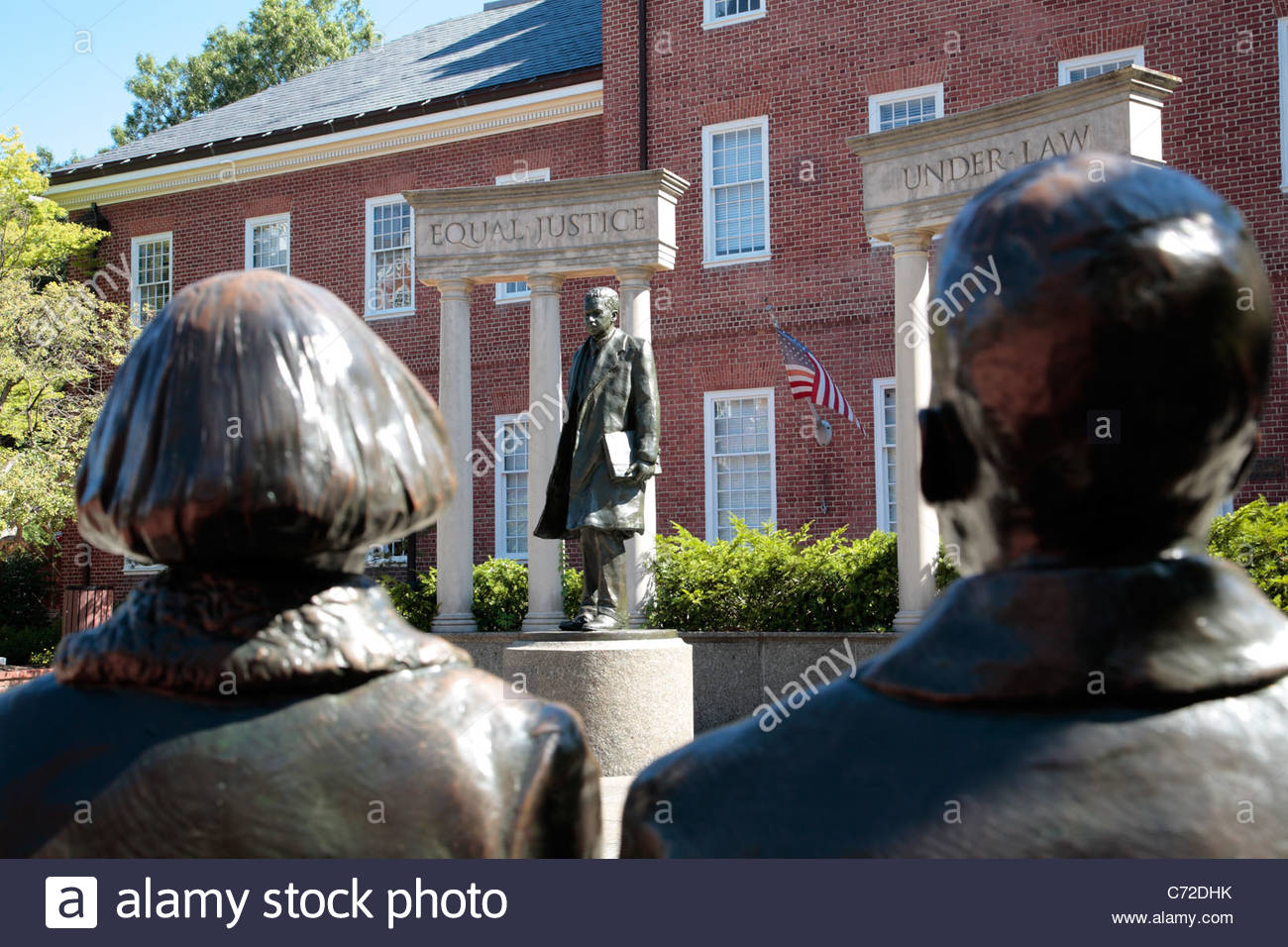 The Thurgood Marshall Memorial in Annapolis, Maryland - Stock Image