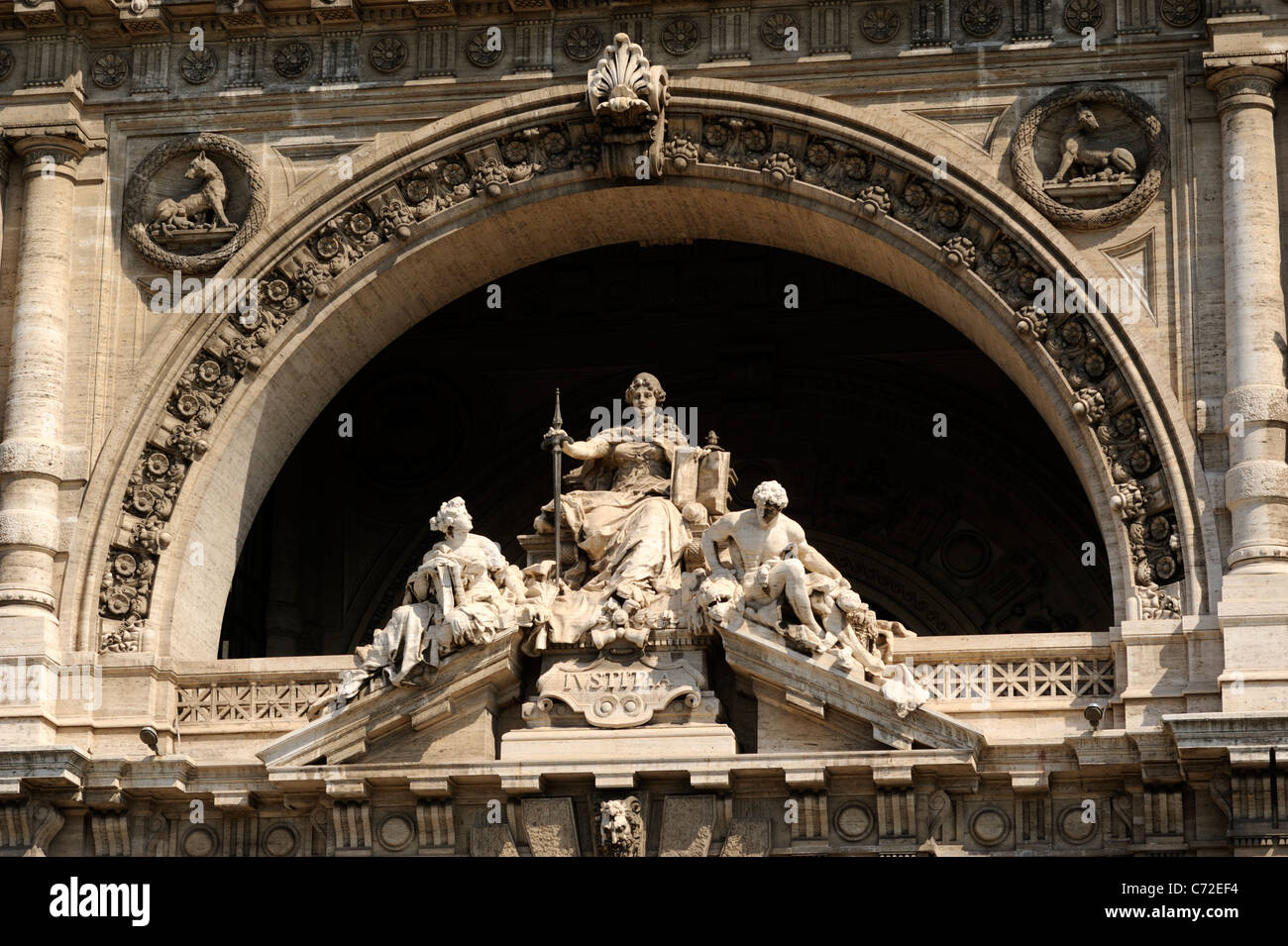 italy, rome, palazzo di giustizia, palace of justice - Stock Image