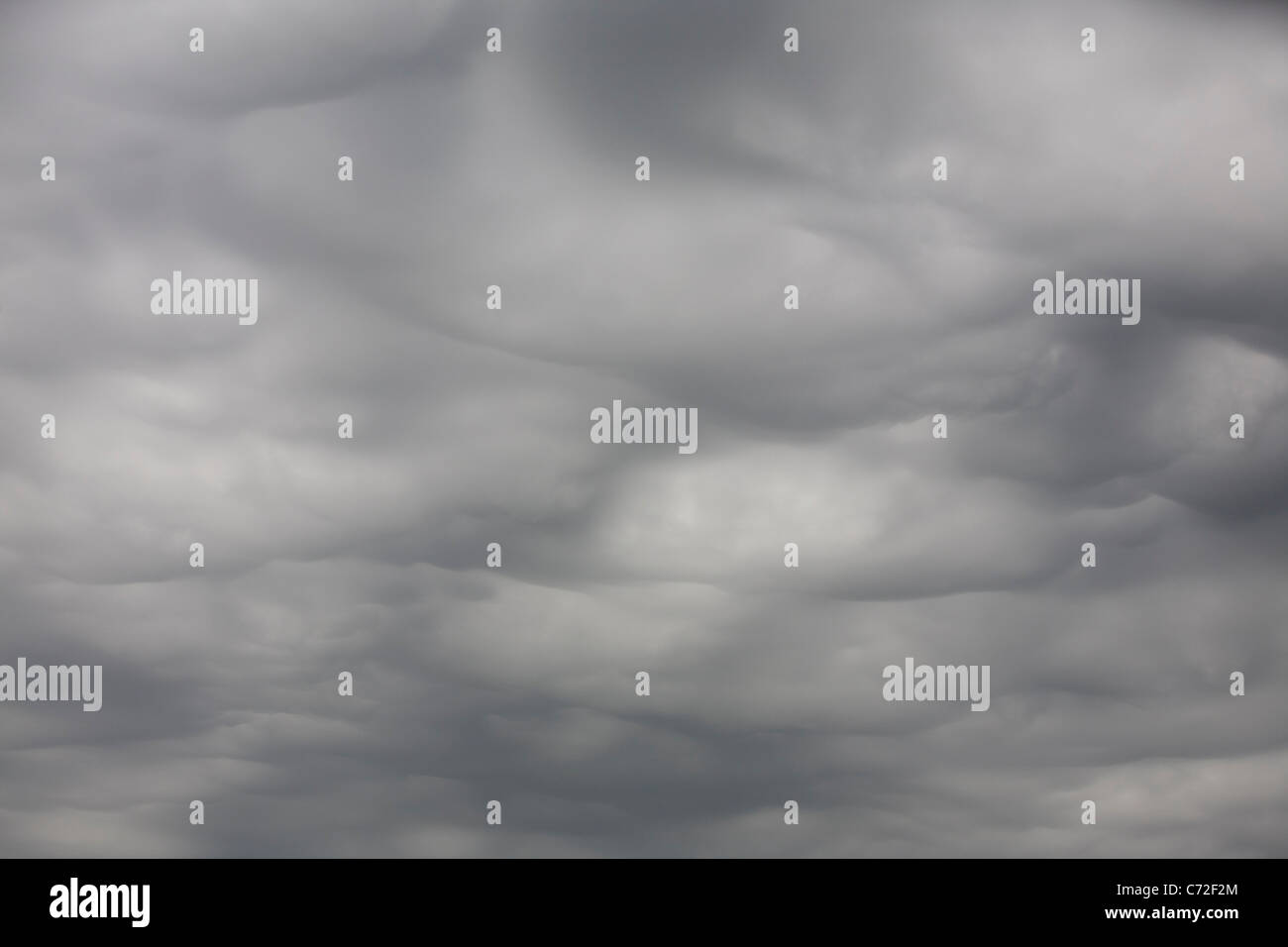 Cloud on an occluded front. - Stock Image