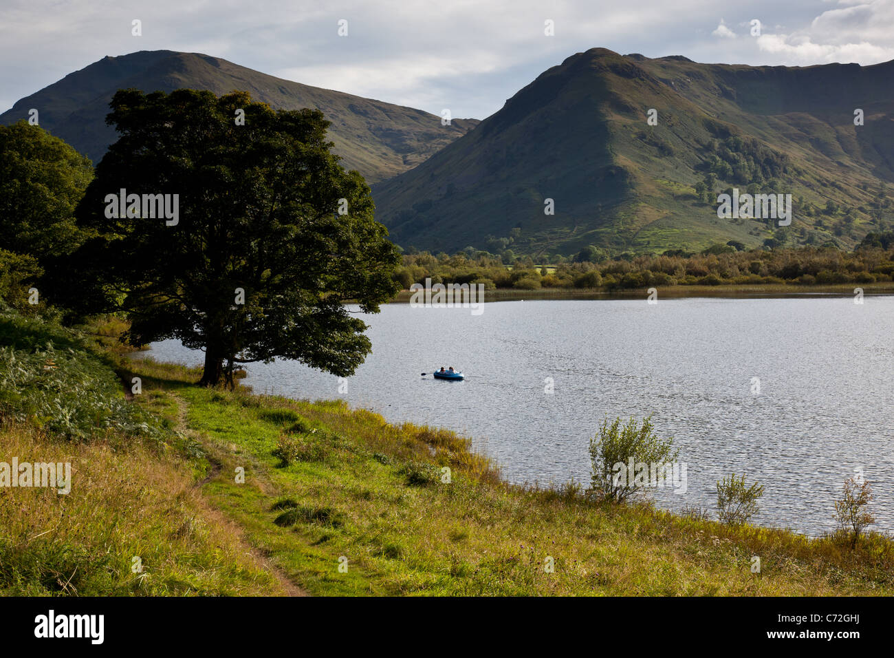 Brothers Water with High Hartsop Dodd in the background, near Patterdale, Lake District National Park, Cumbria - Stock Image
