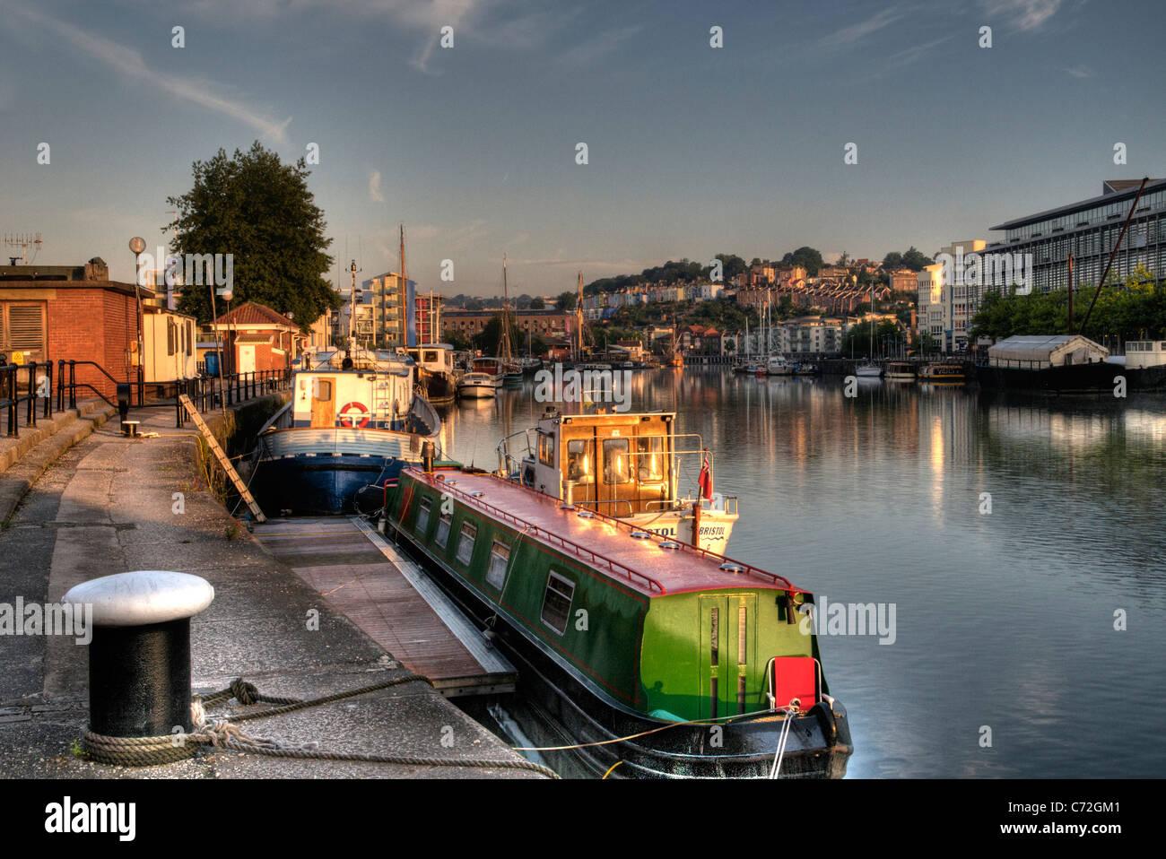 Bristol harbour - Stock Image