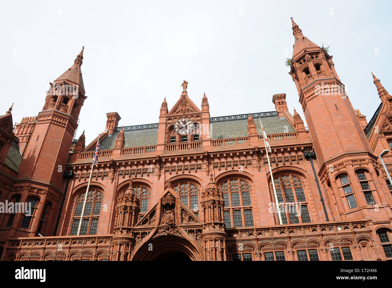 Birmingham Magistrate Court England West Midlands Uk - Stock Image