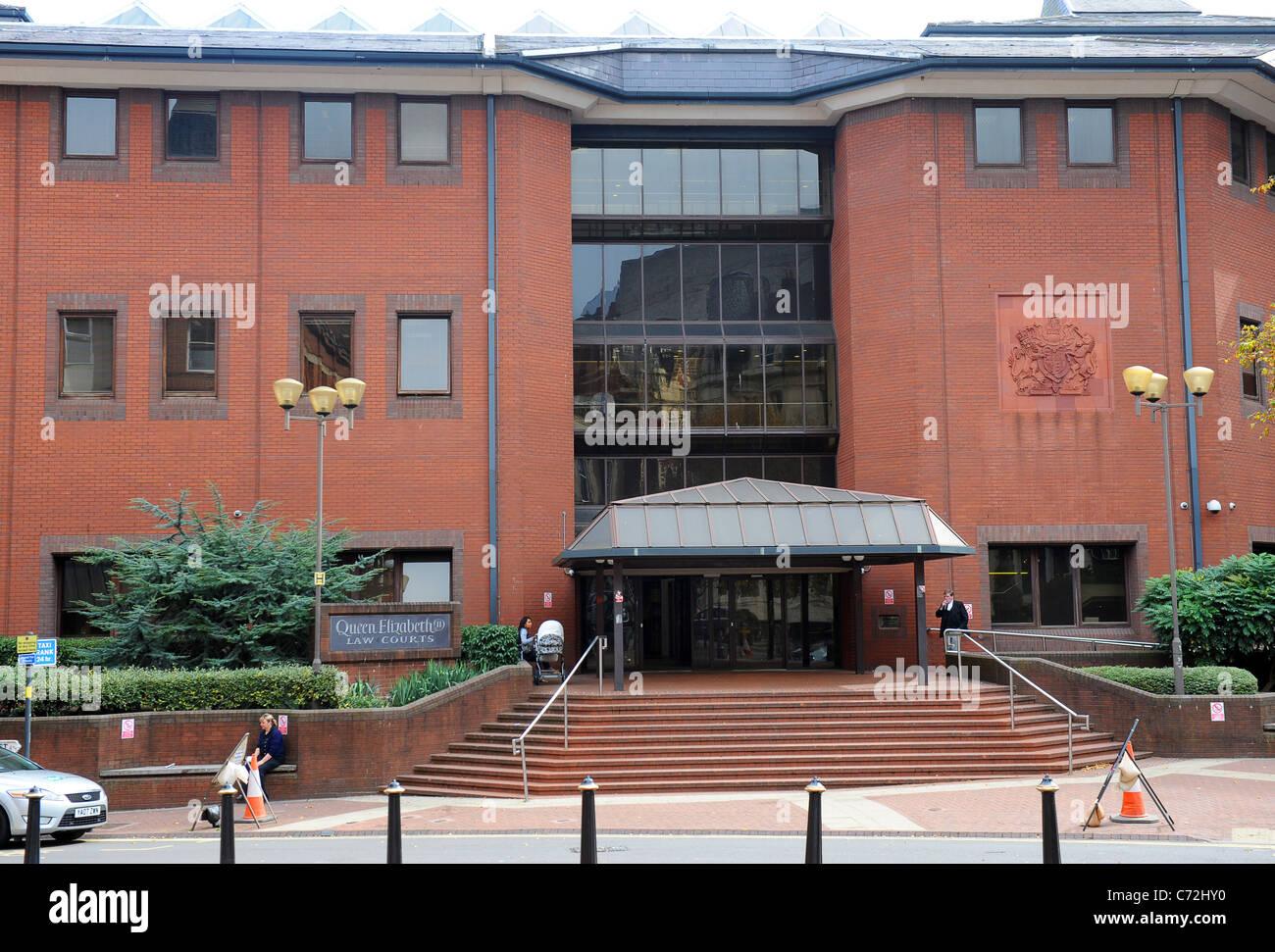 Birmingham Crown Court building England West Midlands Uk - Stock Image
