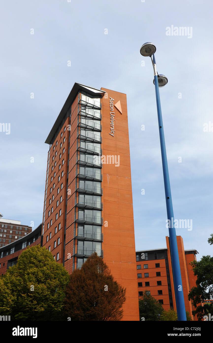The Lakeside Residences at Aston University Birmingham England West Midlands Uk - Stock Image