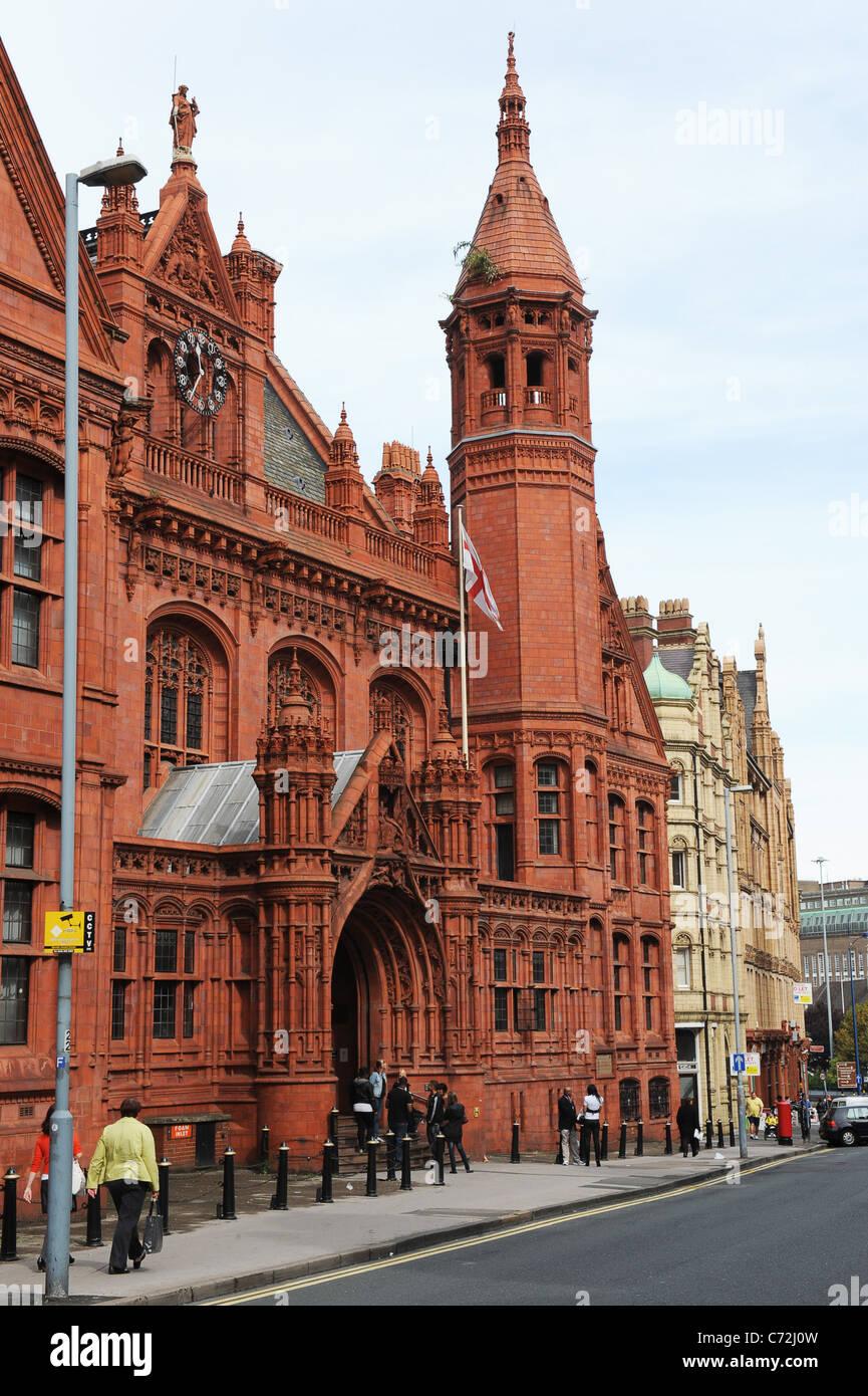 Birmingham Magistrate Court England West Midlands Uk - Stock Image