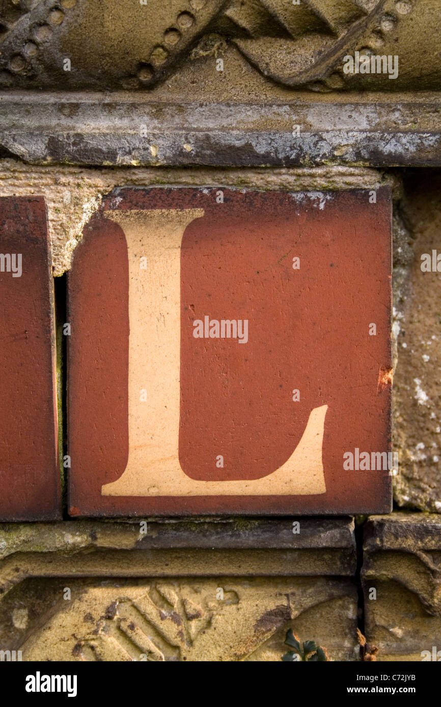 A found letter, part of an entire alphabet. Please see my portfolio for the complete series. - Stock Image