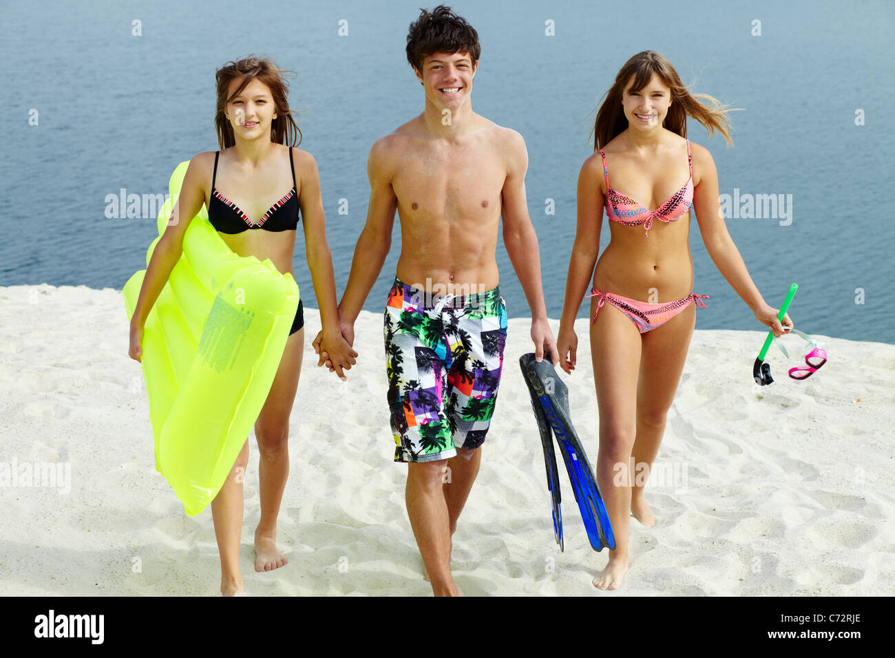 Nude teen girls going down 15