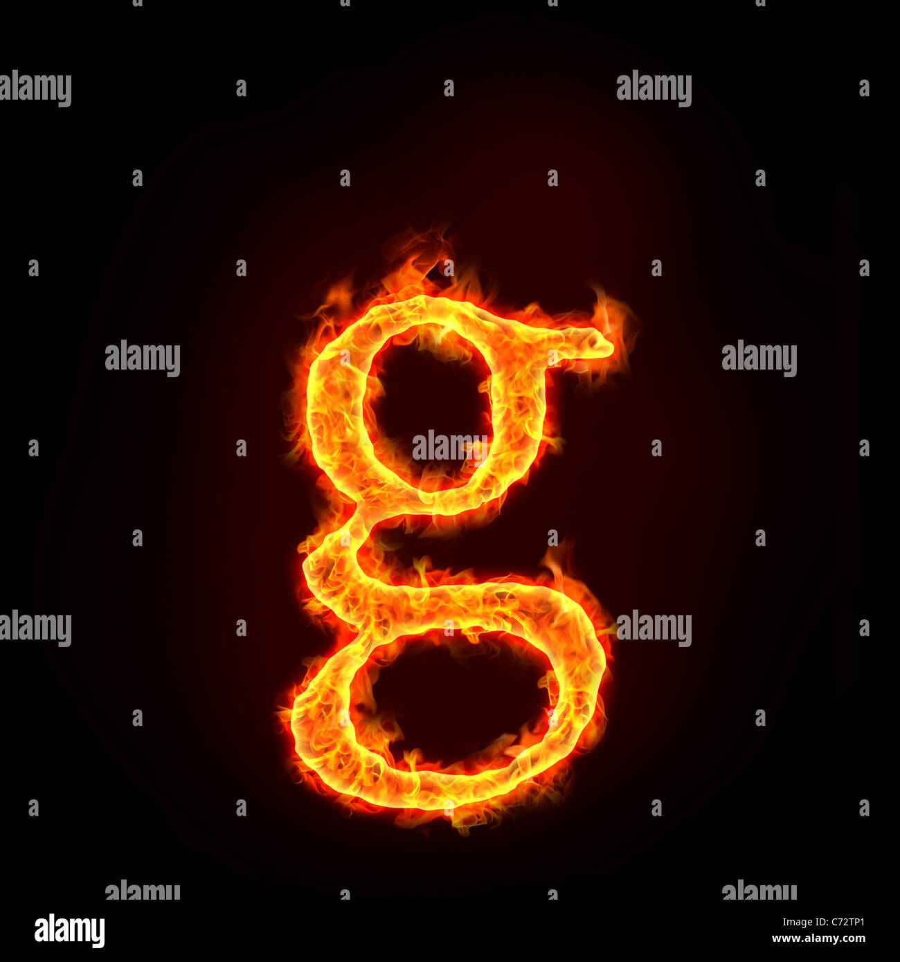 Letters alphabet in fire stock photos letters alphabet in fire fire alphabets in flame small letter g stock image thecheapjerseys Images