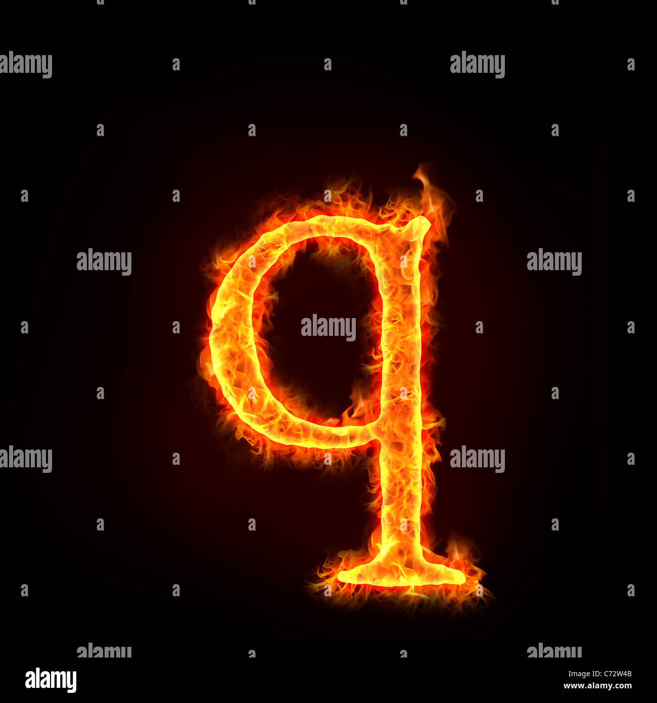 Letters alphabet in fire stock photos letters alphabet in fire fire alphabets in flame small letter q stock image thecheapjerseys Images