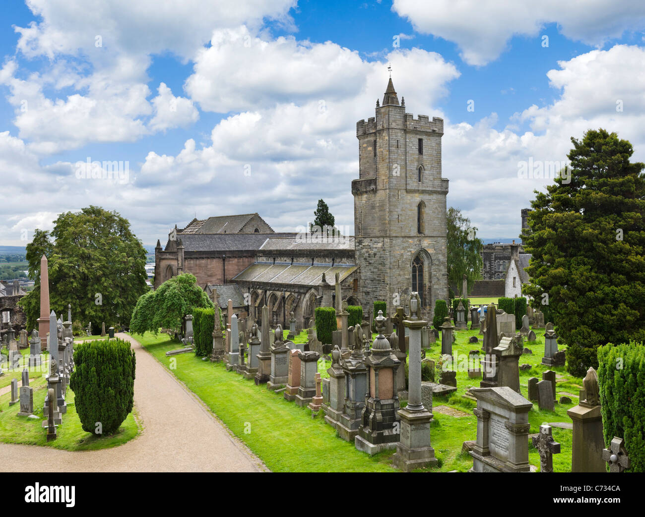 Church of the Holy Rude, Stirling, Scotland, UK - Stock Image