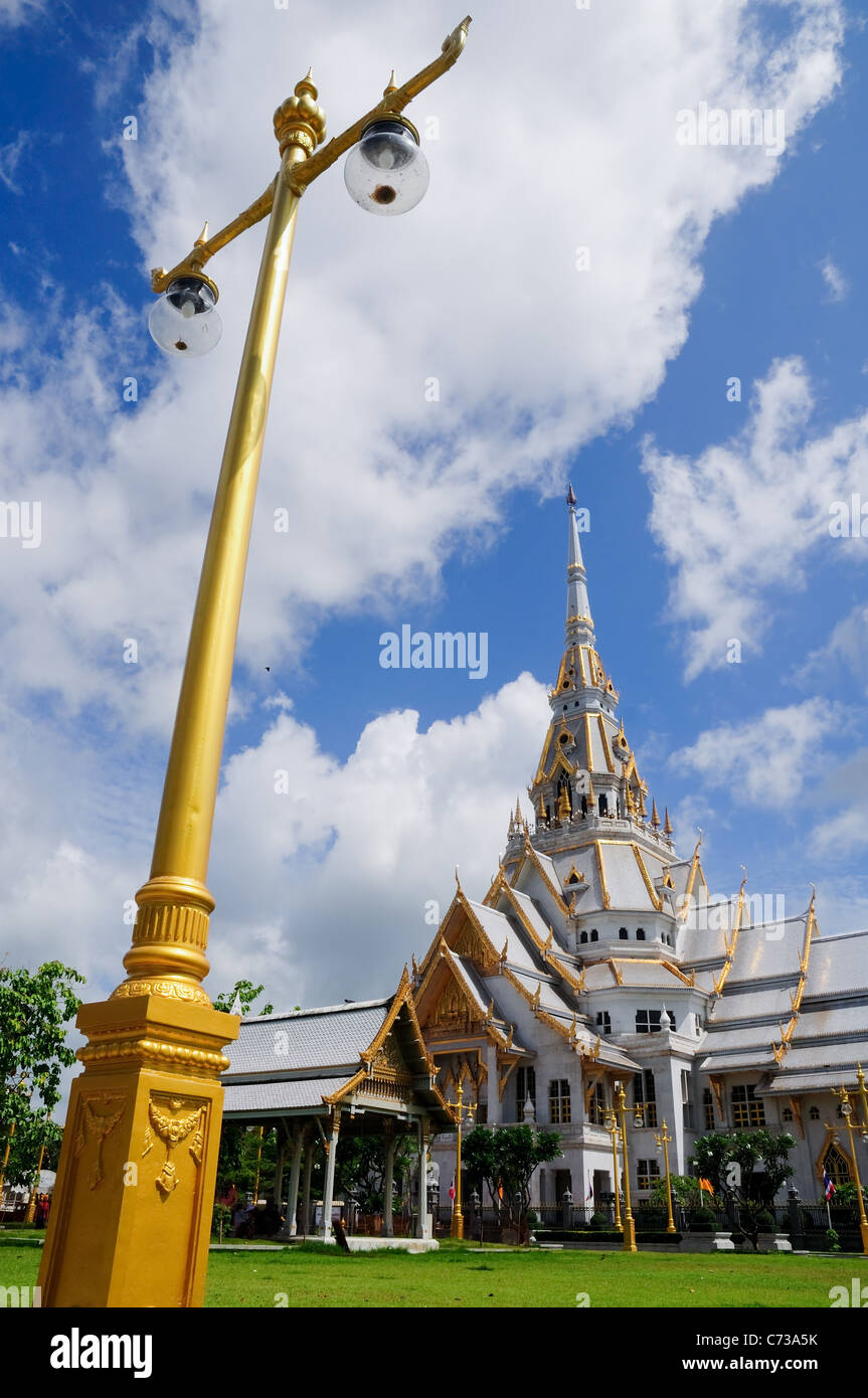 Wat sothorn temple, chachoengsao, thailand - Stock Image