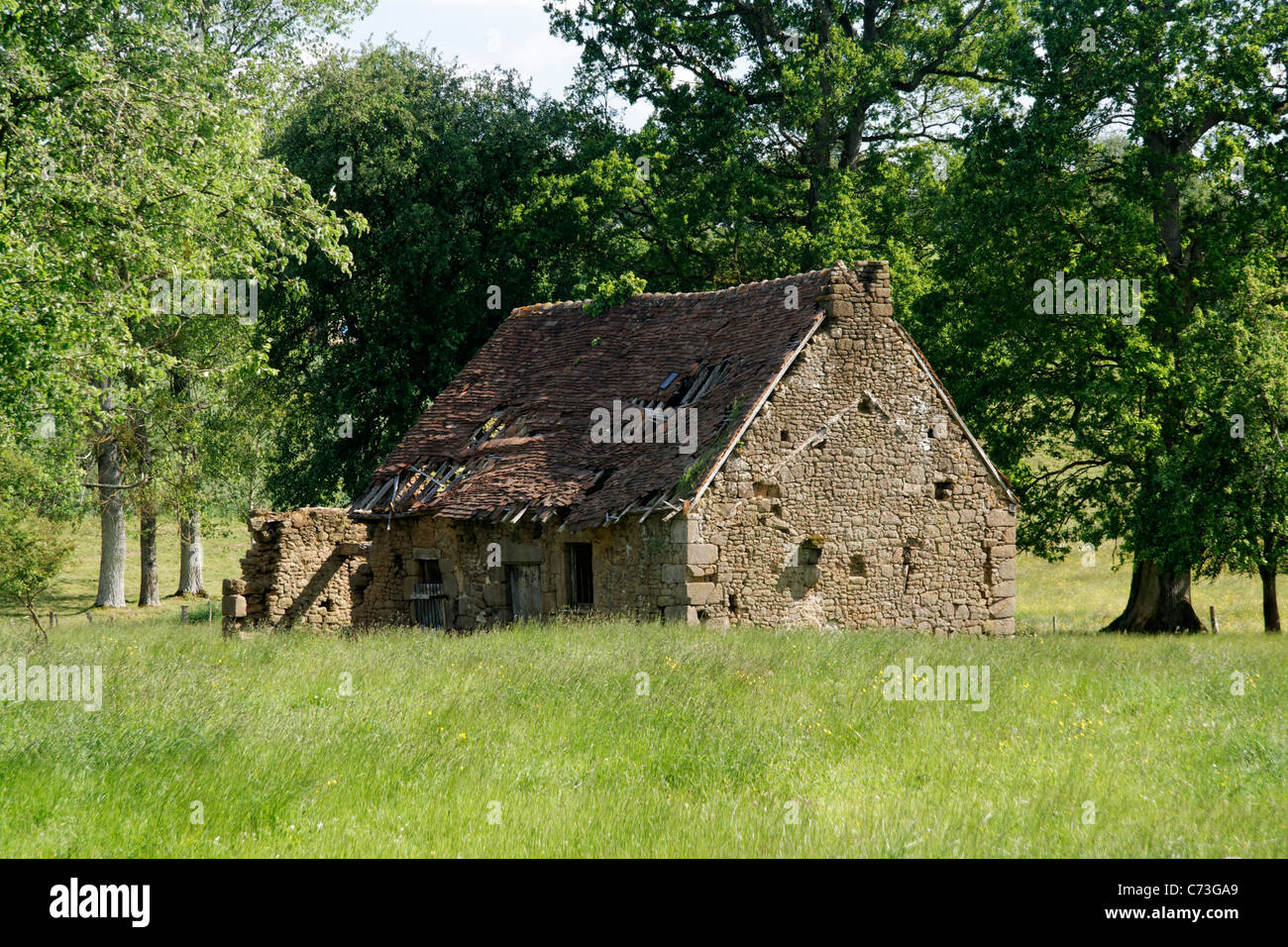 Old Farm Building In The Grove Domfrontais Orne Normandy France Stock Photo Alamy