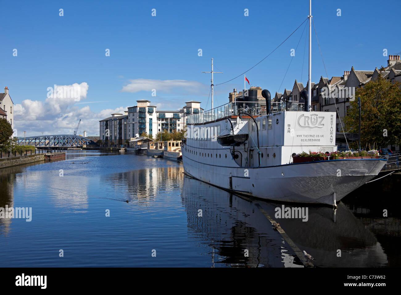 Leith, Edinburgh Scotland UK Europe Stock Photo