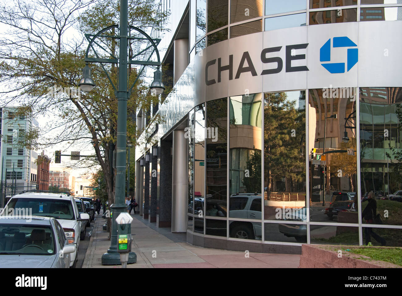 Chase Bank Building Downtown Denver Colorado