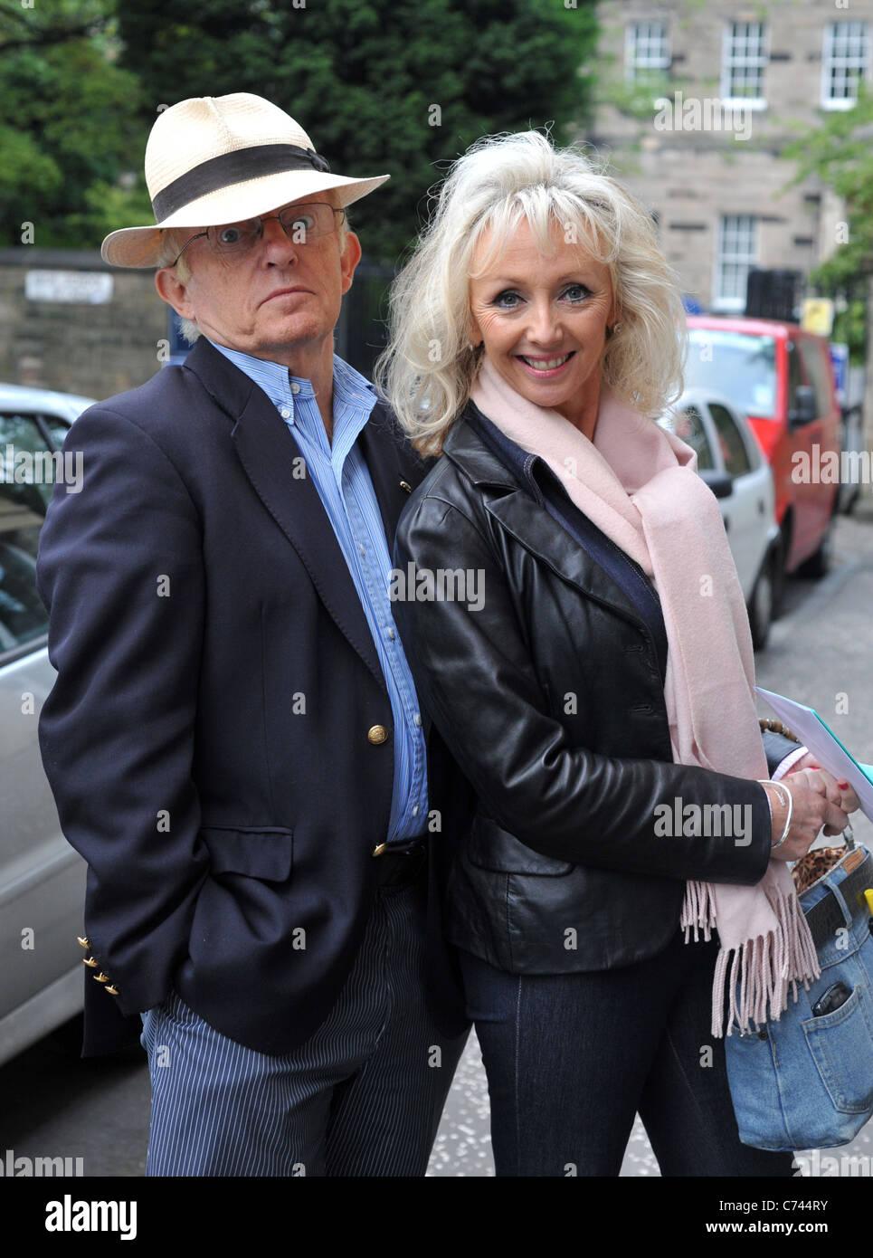 Paul Daniels,Debbie McGee,Edinburgh Fringe Festival,Scotland,2011 - Stock Image