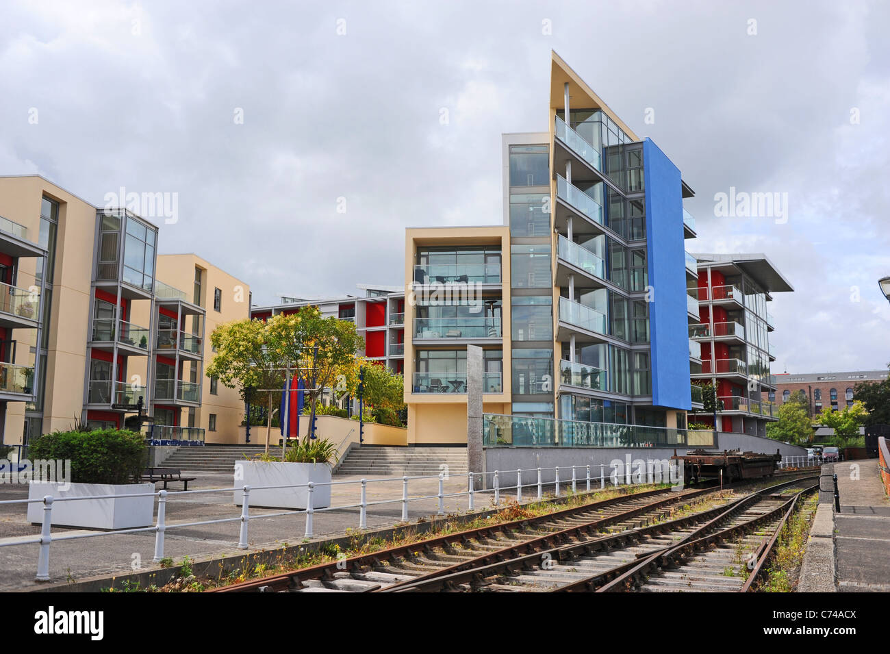 Modern Style Architecture Buildings For Flats And Appartments In The