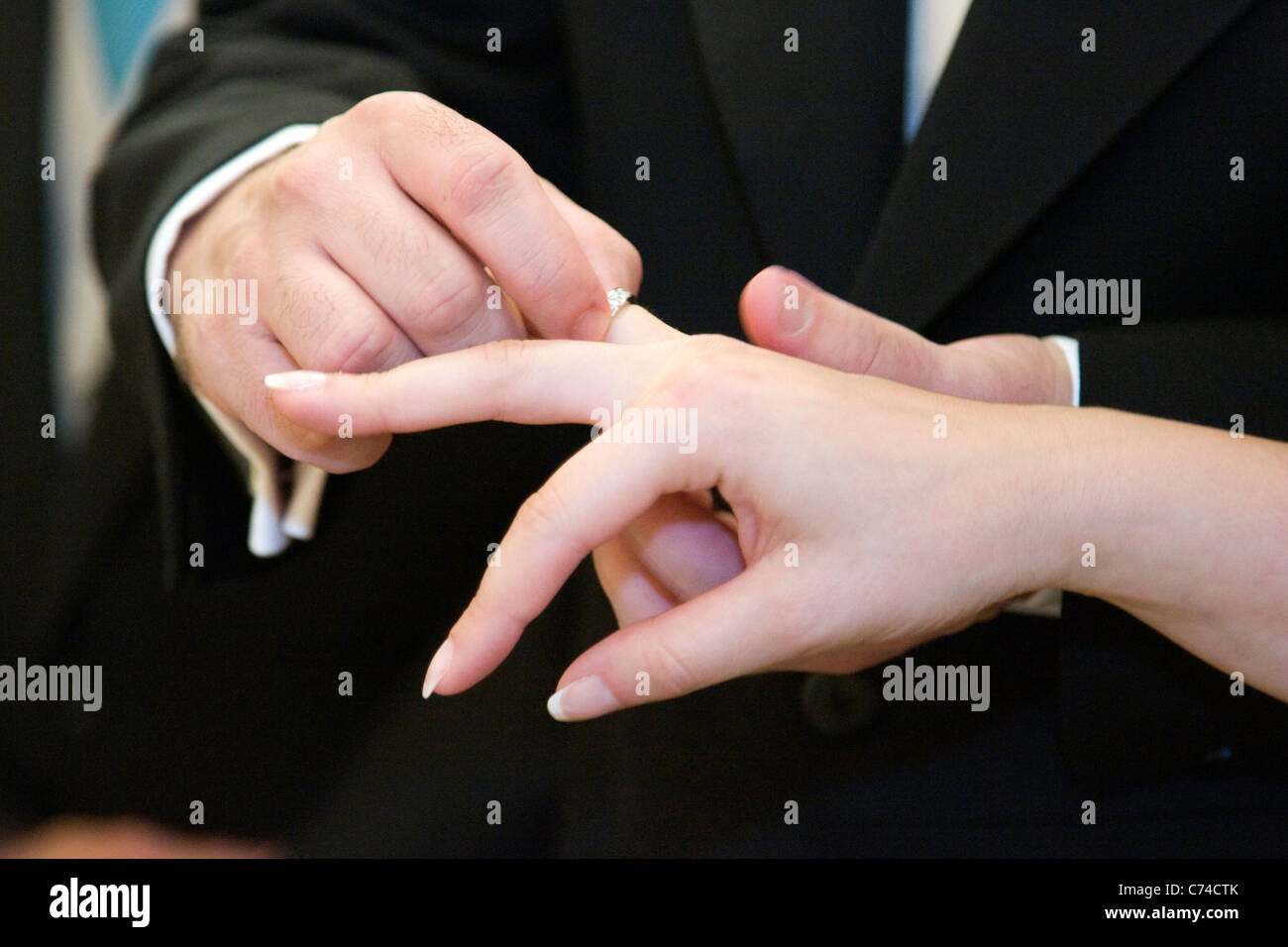 Christian Wedding Ring Stock Photos & Christian Wedding Ring Stock ...
