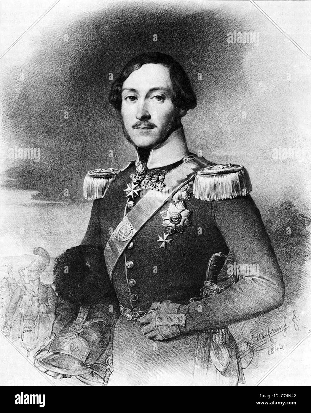 Ernst, Prince of Wurttemberg - Stock Image