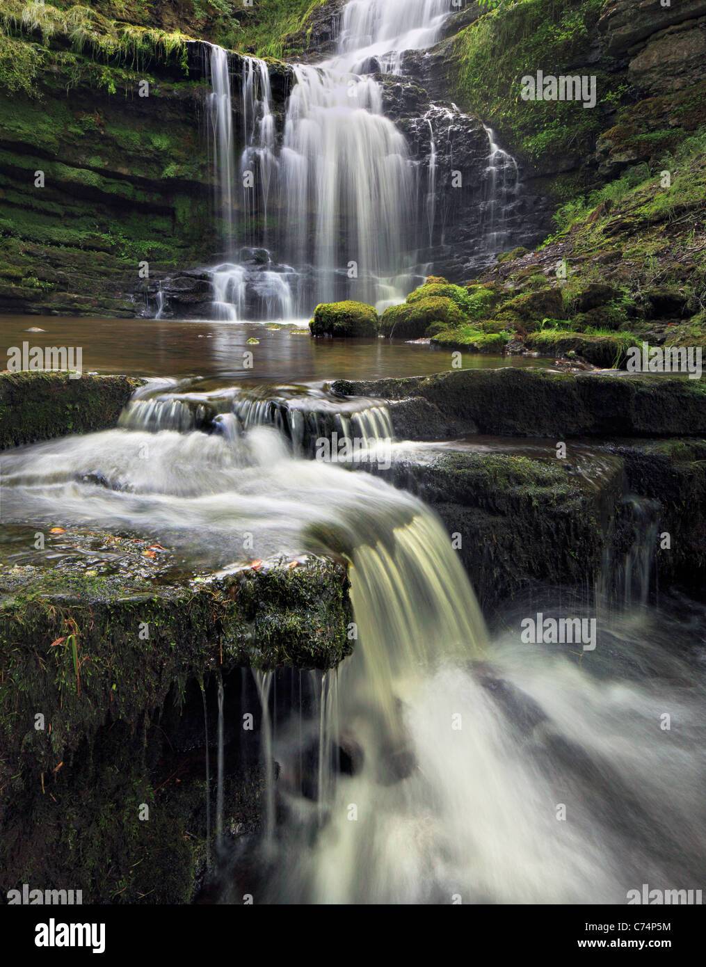 Scaleber Force in late Summer - Stock Image