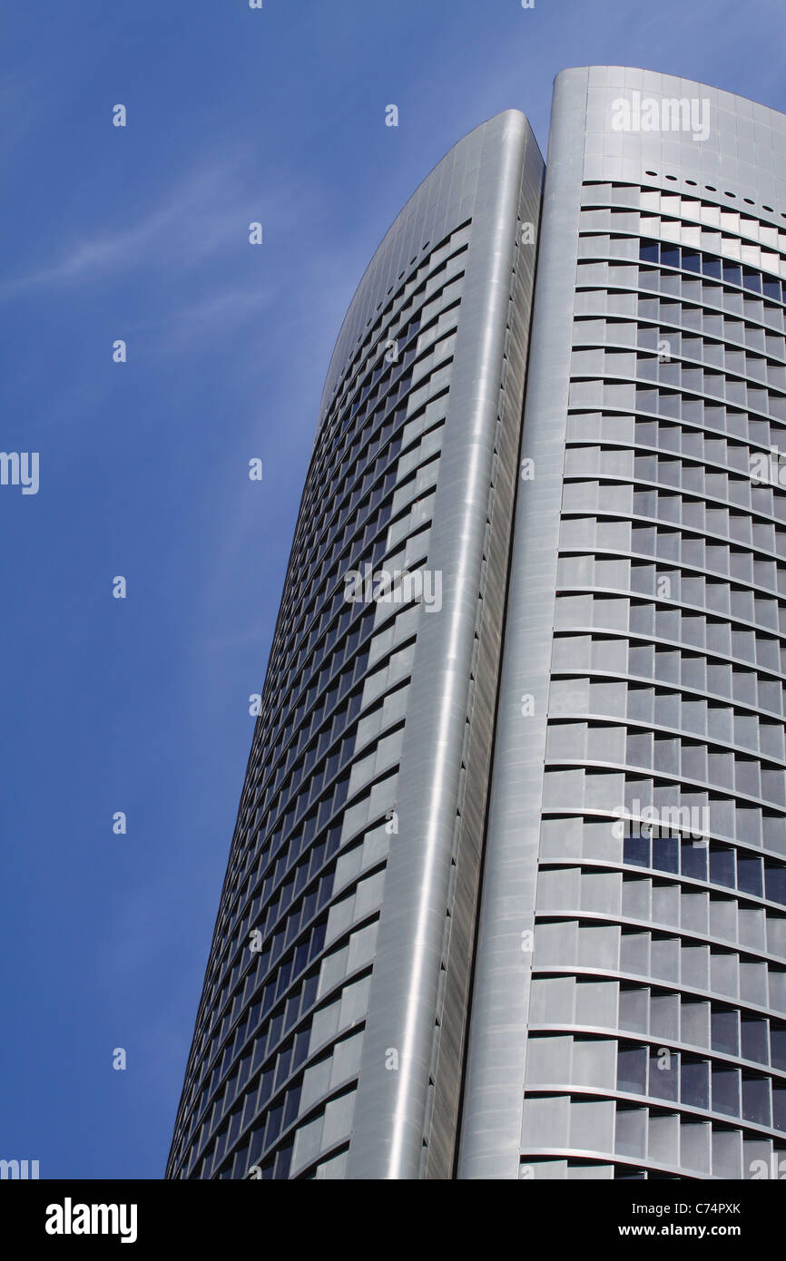 Madrid Financial Center - Stock Image