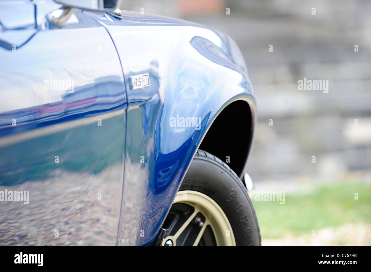 1974 ford Escort RS 2000 big wheel arch