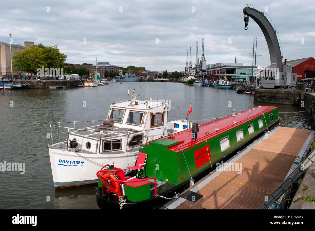 Bristol Harbour Railway, Bristol, England, United Kingdom - Stock Image