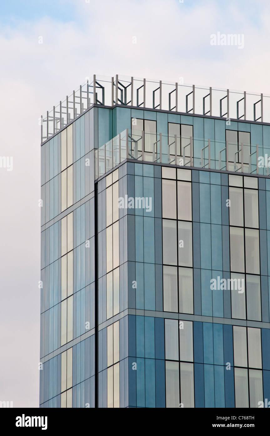 Radisson Blu Hotel at Broad Quay, The Centre, Bristol, England, United Kingdom - Stock Image