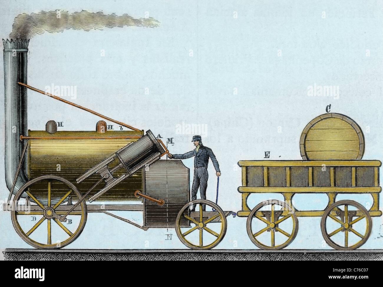 George Stephenson Rocket Stock Photos & George Stephenson