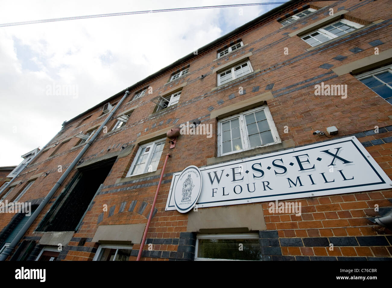 Wessex four mill in Wantage, one of the smallest flour mills commercially rolling miller wheat - Stock Image