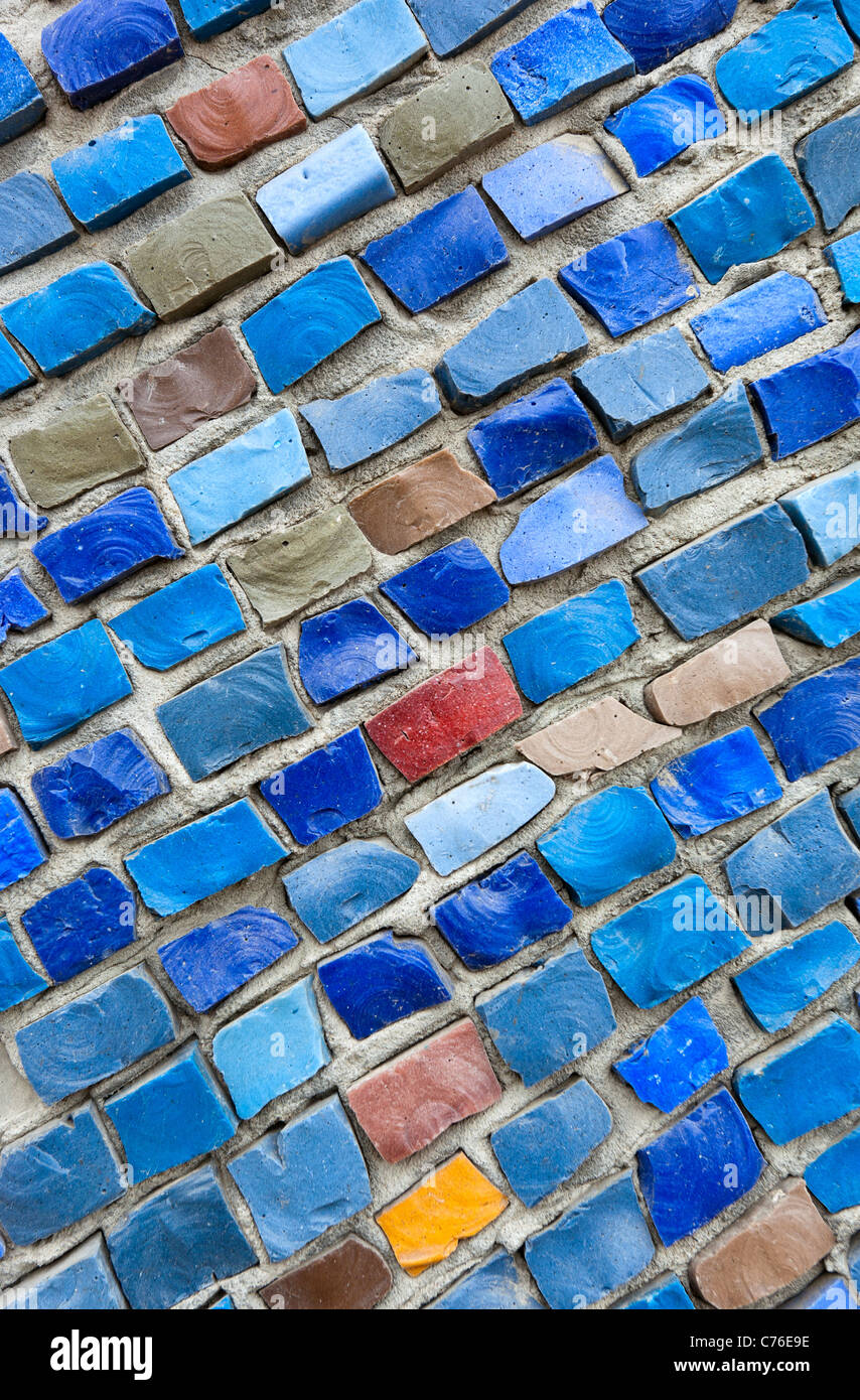 Abstract mosaic background - Stock Image