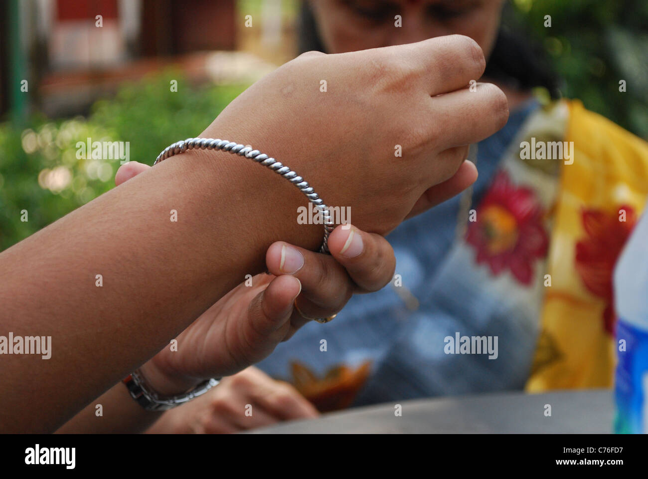 my bangle - Stock Image