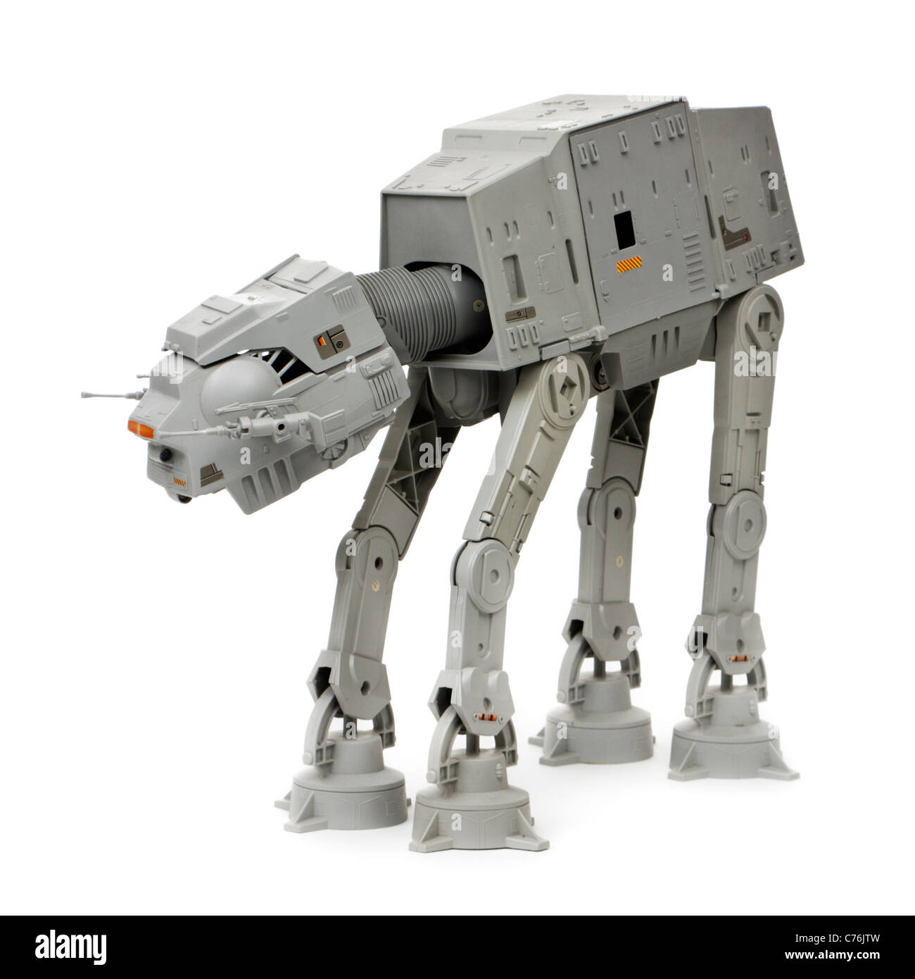 Star Wars AT-AT walker (All Terrain Armored Transport) by Kenner (1983) - Stock Image