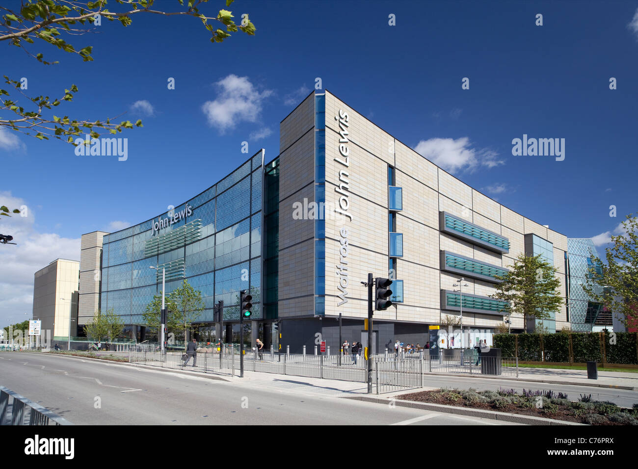 John Lewis Store at Westfield Stratford London Stock Photo