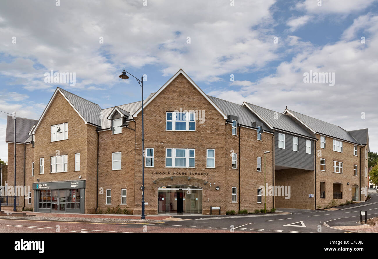 Lincoln House Surgery in Apsley, Hertfordshire. - Stock Image
