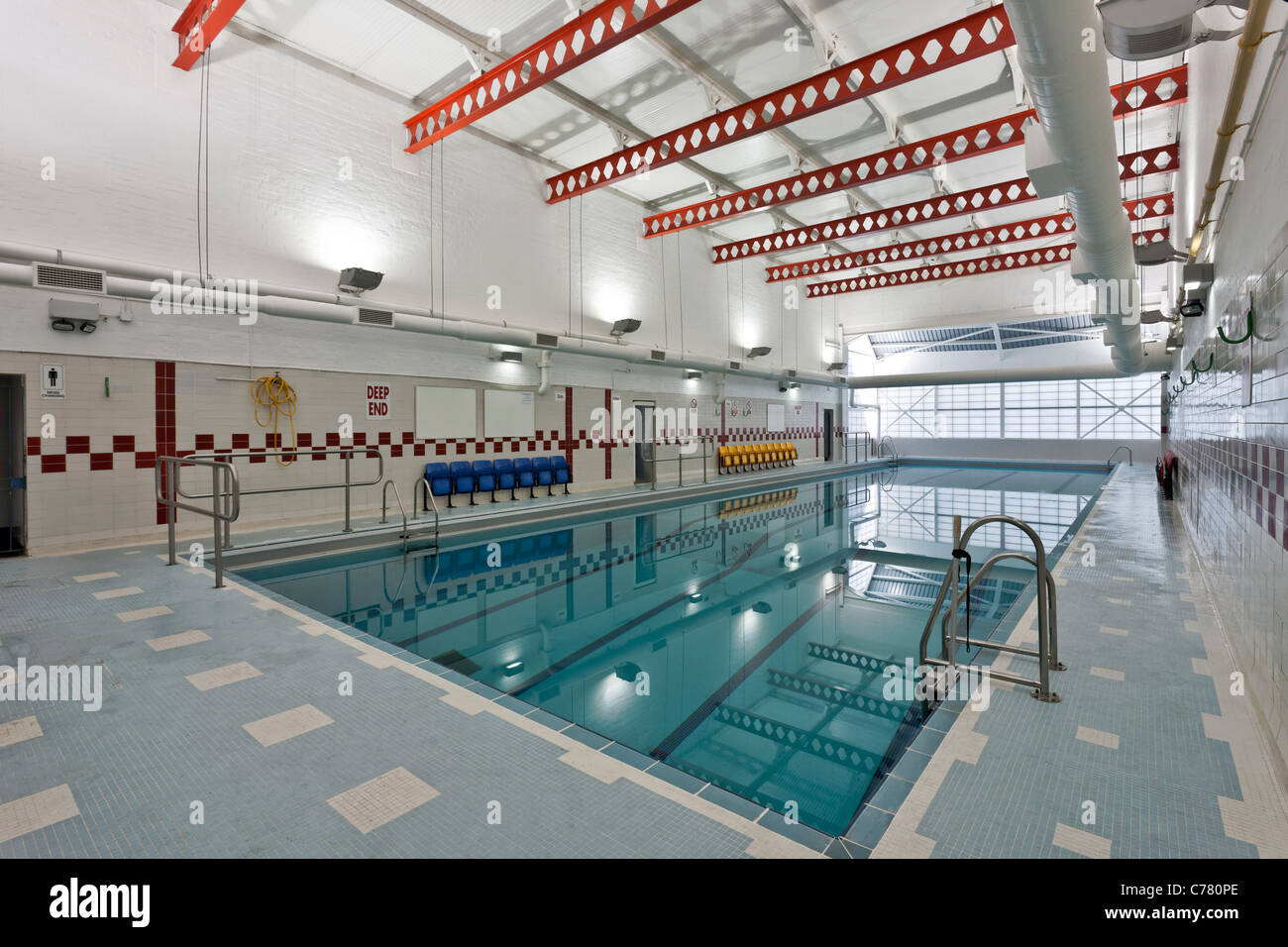 swimming pool at the southfields community college wandsworth stock photo 38899574 alamy